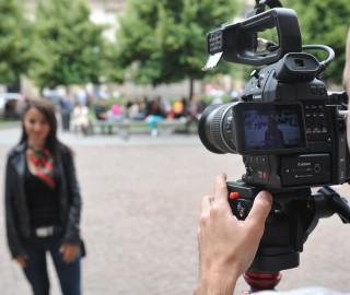 Shooting cortometraggio Milano 2015 Nice to Meet You