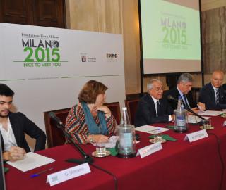 Conferenza stampa Palazzo Marino - Pisapia