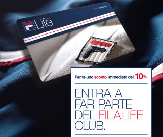 Fidelity card Fila Life Club
