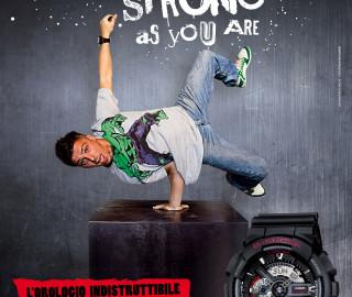 comunicazione integrata Casio G-Shock