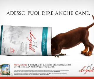 campagna pet food Loyall