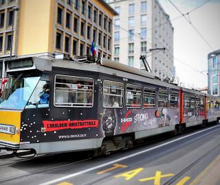 affissione dinamica tram