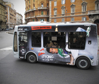 affissione dinamica bus