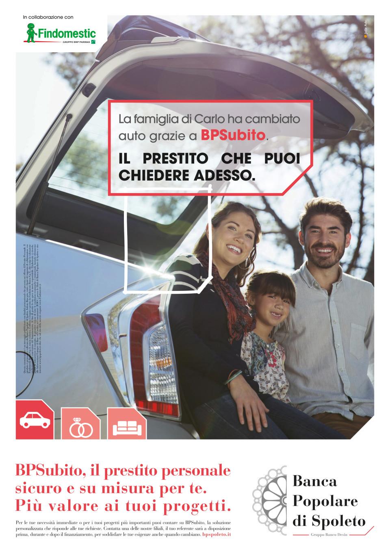 naming e campagna prestiti Banca Popolare di Spoleto