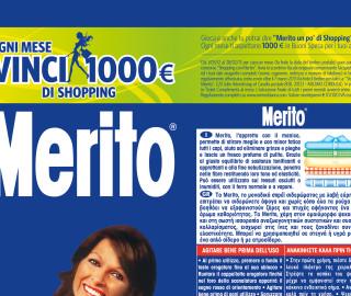 promozione in-store Merito