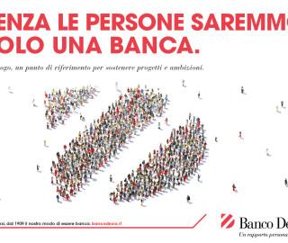 campagna istituzionale Banco Desio