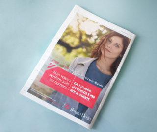 campagna anniversario Gruppo Banco Desio stampa