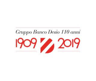 logo anniversario 110 anni Banco Desio